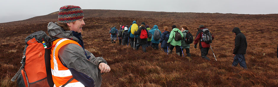 Groups guided walks